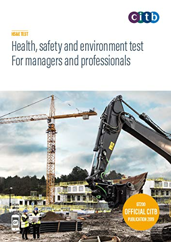 Purchase your Health, safety and environment test for managers and professionals book here