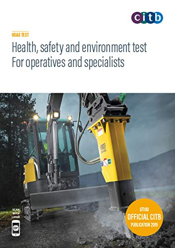 Purchase your Health, safety and environment test for operatives and specialists 2019 : GT100/19