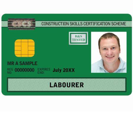 CSCS Green Labourer Card