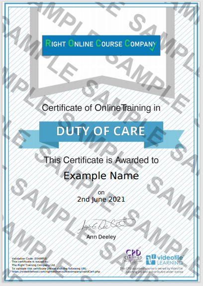 duty of care -cpd-approved-sample-certificate